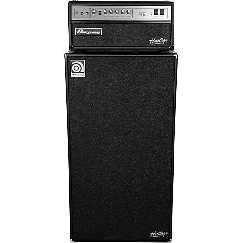 Ampeg Heritage SVT-CL 300W Tube Bass Amp Head with 8x10 800W Bass ...