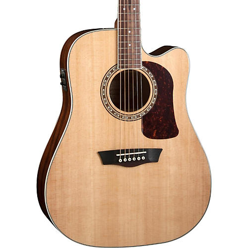 Washburn Heritage Series HD10SCE Acoustic-Electric Cutaway Dreadnought Guitar-thumbnail