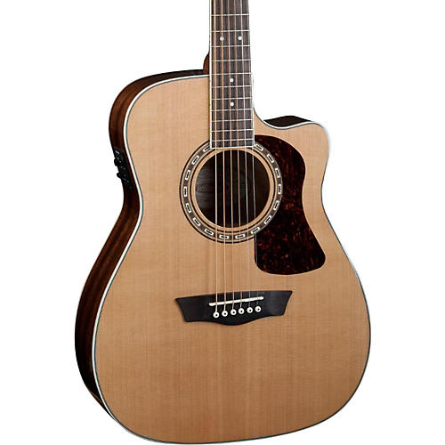 Washburn Heritage Series HF11SCE Acoustic-Electric Folk Guitar-thumbnail