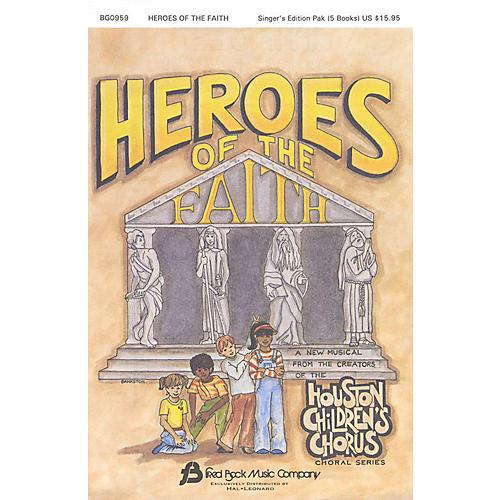 Fred Bock Music Heroes of the Faith (Sacred Children's Musical) Sgr 5 Pak arranged by (Houston Children's Choir Series)