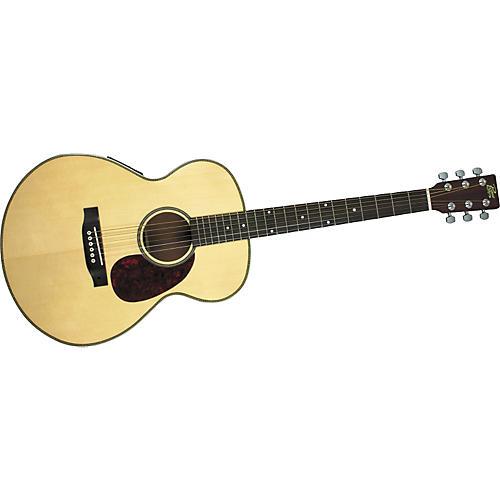 Rogue Herringbone Grand Concert Acoustic-Electric