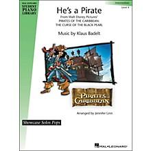 Hal Leonard He's A Pirate - Showcase Solo Pops Level 4 - Intermediate Hal Leonard Student Piano Library by Jennifer Linn