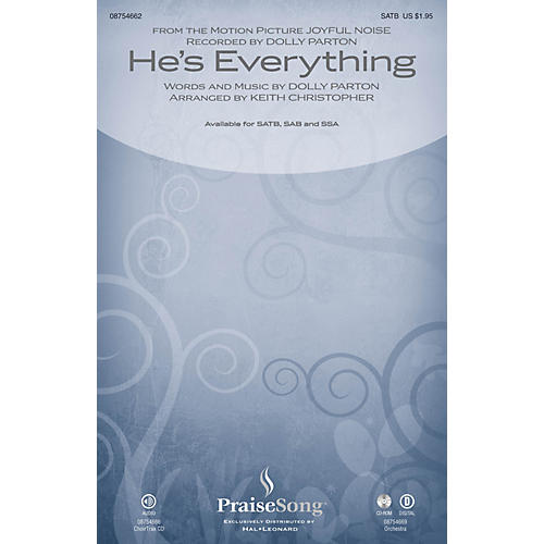 PraiseSong He's Everything (from Joyful Noise) SSA by Dolly Parton Arranged by Keith Christopher-thumbnail