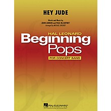 Hal Leonard Hey Jude Concert Band Level 1 by The Beatles Arranged by Michael Sweeney