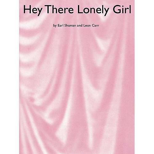Music Sales Hey There Lonely Girl Music Sales America Series-thumbnail
