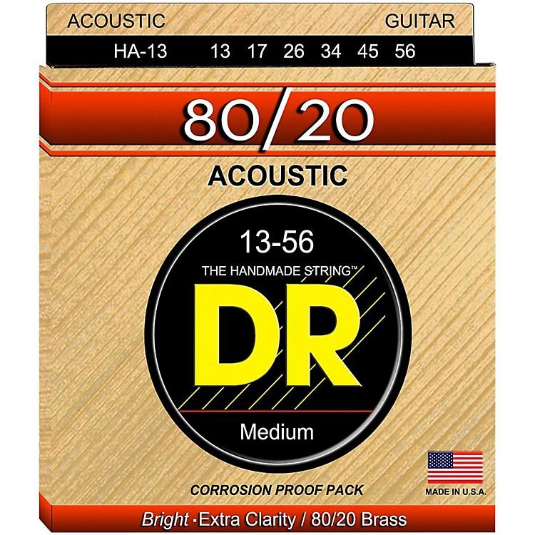 DR StringsHi-Beam 80/20 Medium Heavy Acoustic Guitar Strings