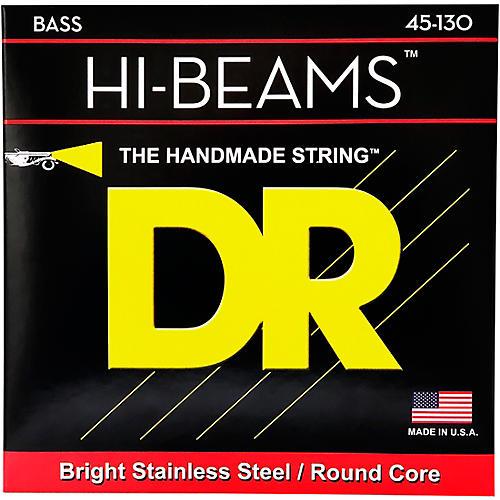 DR Strings Hi Beams Medium 5-String Bass .130 Low B String-thumbnail
