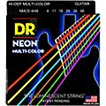 DR Strings Hi-Def NEON Multi-Color Coated Light N' Heavy Electric Guitar Strings (9-46)