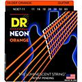 DR Strings Hi-Def NEON Orange Coated Heavy 7-String Electric Guitar Strings (11-60)