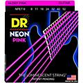 DR Strings Hi-Def NEON Pink Coated Lite 7-String Electric Guitar Strings (9-52)