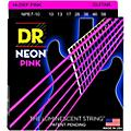 DR Strings Hi-Def NEON Pink Coated Medium 7-String Electric Guitar Strings (10-56)