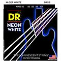 DR Strings Hi-Def NEON White Coated Medium 4-String Bass Strings  Thumbnail