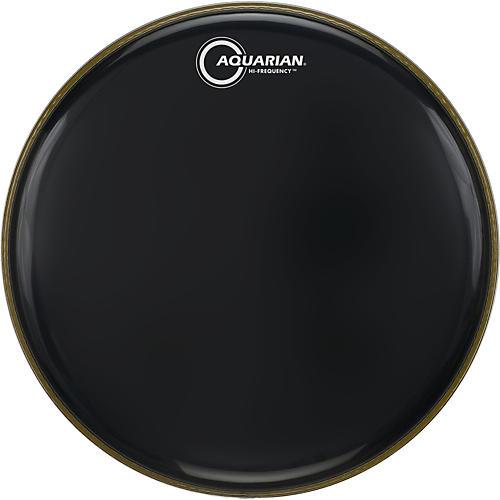Aquarian Hi-Frequency Drumhead Black Black 14 in.