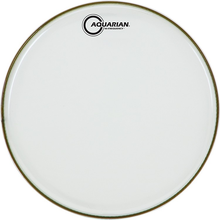Aquarian Hi-Frequency Drumhead Black Clear 12 Inches