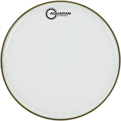 Aquarian Hi-Frequency Drumhead Black Clear 14 in.