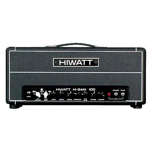 Hiwatt Hi-Gain 100 Basic 100W Tube Guitar Amp Head