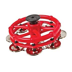 lp hi hat tambourine with click feature steel jingles musician 39 s friend. Black Bedroom Furniture Sets. Home Design Ideas