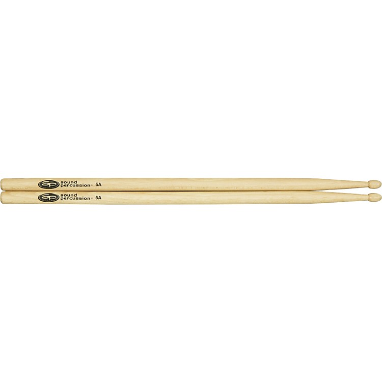 Sound Percussion Hickory Drumsticks - Pair Wood 5A