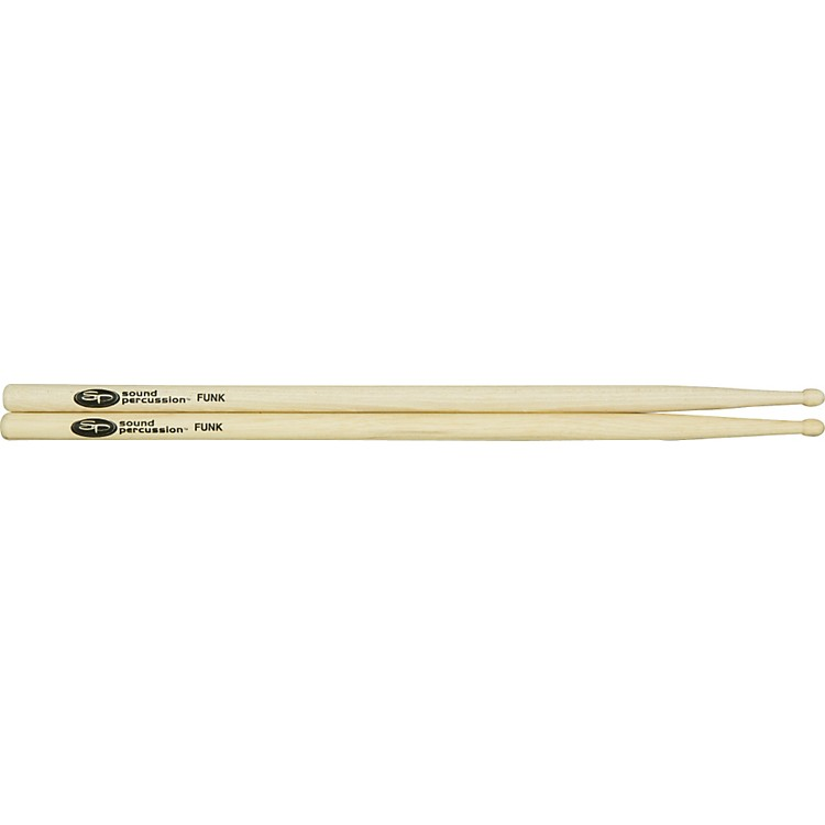 Sound Percussion Hickory Drumsticks - Pair Wood Funk
