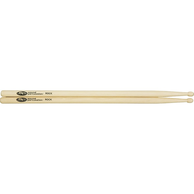 Sound Percussion Hickory Drumsticks - Pair Wood Rock