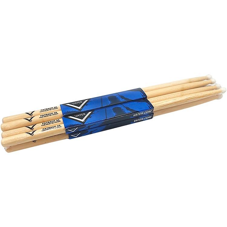 VaterHickory Drumsticks 4 Pack - Buy 3 Get 1 FreeNylon3A