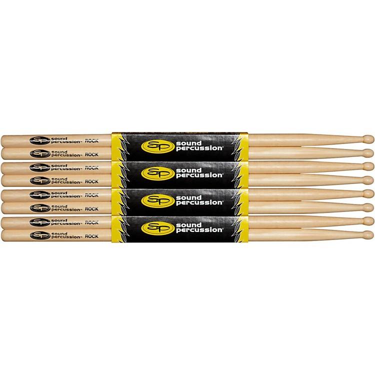 Sound PercussionHickory Drumsticks 4 PackRockWood