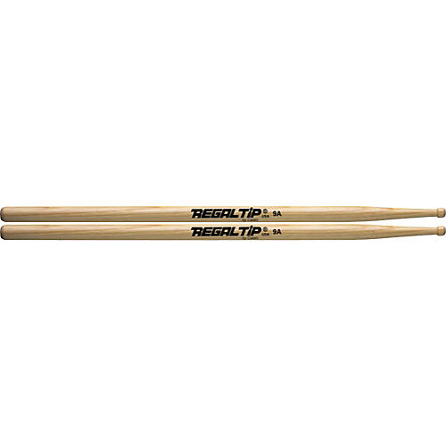 Regal Tip Hickory Drumsticks 9A Wood