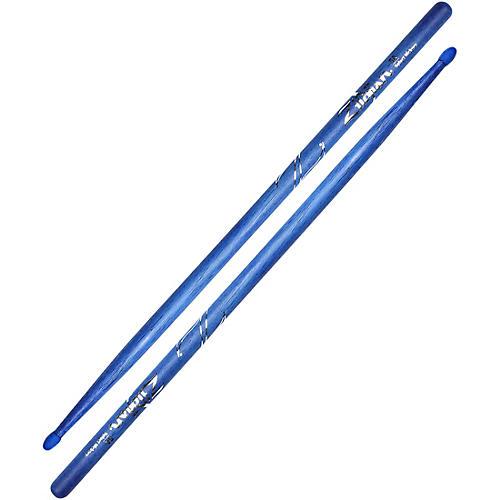 Zildjian Hickory Drumsticks, Blue 5A Nylon