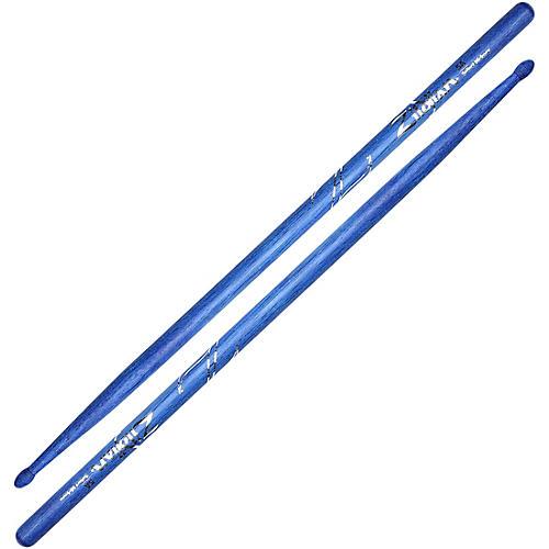 Zildjian Hickory Drumsticks, Blue 5A Wood