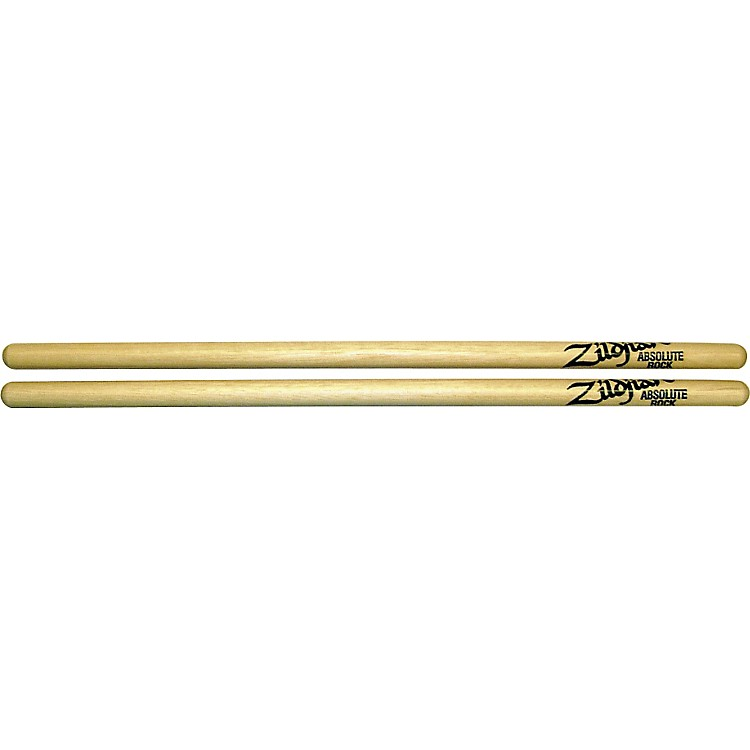 ZildjianHickory Series Absolute Rock Natural Drumsticks