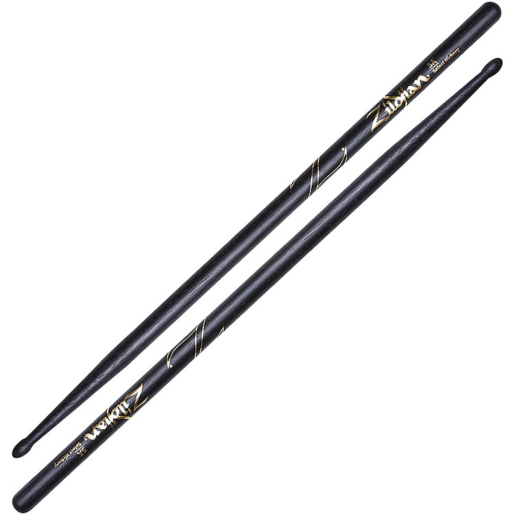 Zildjian Hickory Series Black Drumsticks 5A Wood