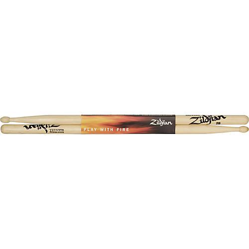 Zildjian Hickory Series Drumsticks with Wood Tip