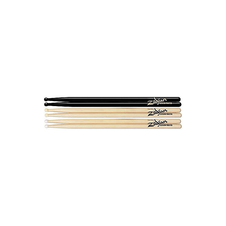 Zildjian Hickory Series Sessionmaster Drumsticks Natural Nylon