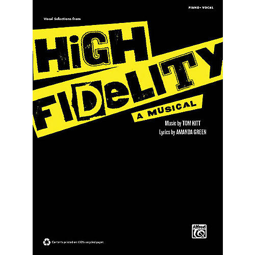 Alfred High Fidelity - A Musical (Vocal Selections) Vocal Selections Series Softcover-thumbnail