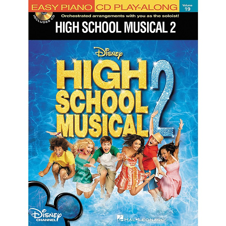 Hal Leonard High School Musical 2 - Easy Piano CD Play-Along Volume 19 Book/CD