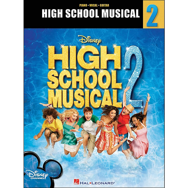 Hal Leonard High School Musical 2 arranged for piano, vocal, and guitar (P/V/G)
