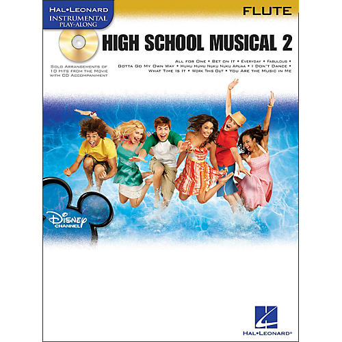 Hal Leonard High School Musical 2 for Flute Book/CD-thumbnail