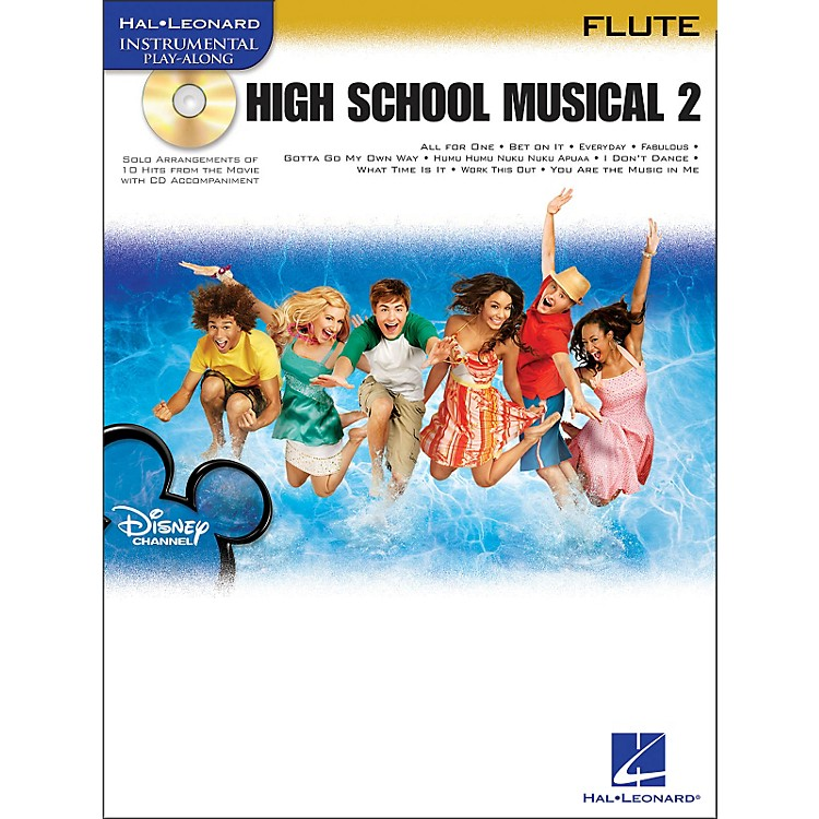 Hal Leonard High School Musical 2 for Flute Book/CD
