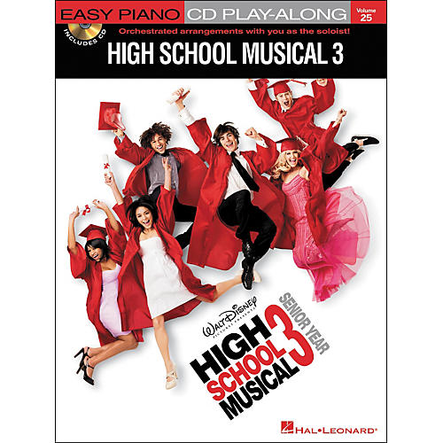 Hal Leonard High School Musical 3 - Easy Piano CD Play-Along Volume 25 Book/CD