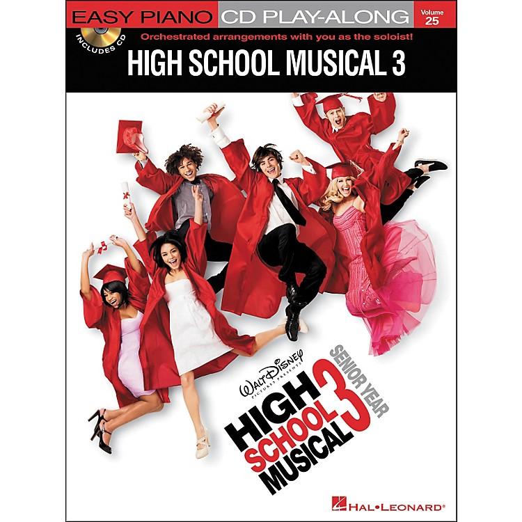 Hal LeonardHigh School Musical 3 - Easy Piano CD Play-Along Volume 25 Book/CD