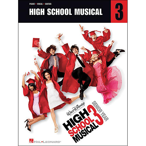Hal Leonard High School Musical 3 arranged for piano, vocal, and guitar (P/V/G)