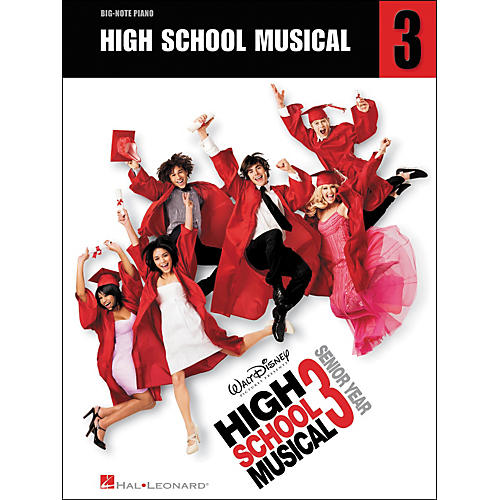 Hal Leonard High School Musical 3 for Big Note Piano