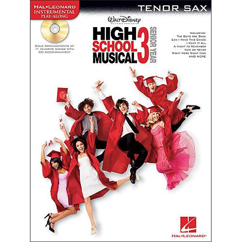 Hal Leonard High School Musical 3 for Tenor Sax - Instrumental Play-Along Book/CD Pkg-thumbnail