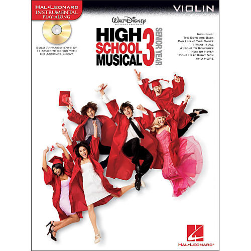 Hal Leonard High School Musical 3 for Violin - Instrumental Play-Along CD/Pkg