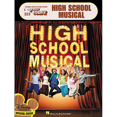 Hal Leonard High School Musical (Disney Channel Original Movie) E-Z Play 323