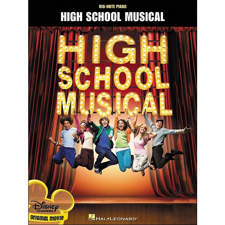 Hal LeonardHigh School Musical Original Movie for Big Note Piano
