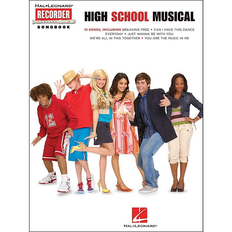 Hal Leonard High School Musical Recorder Songbook