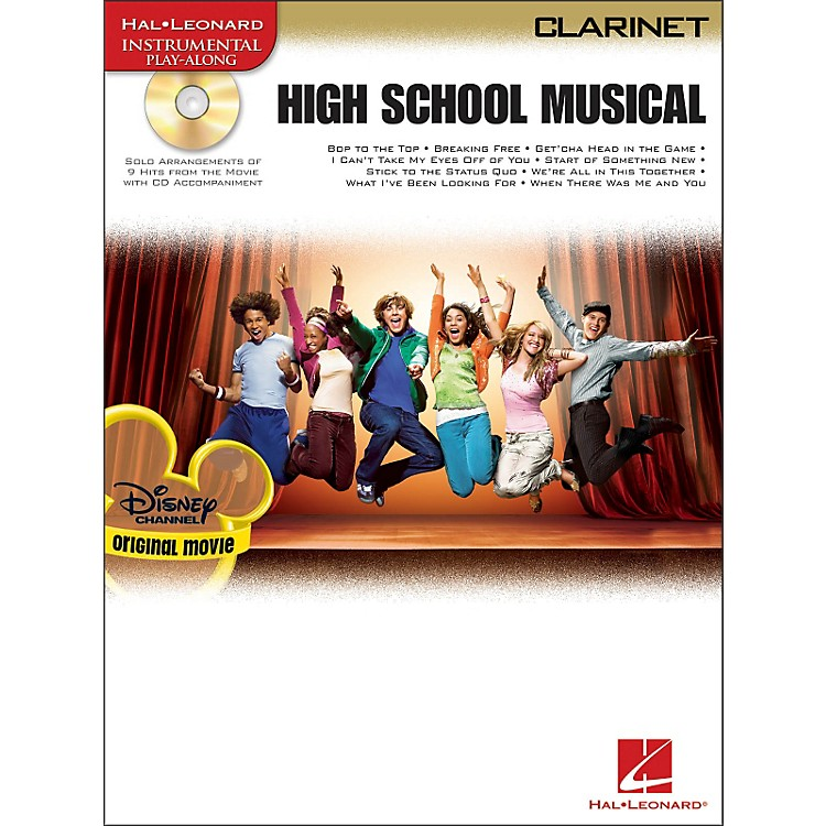 Hal Leonard High School Musical for Clarinet Book/CD