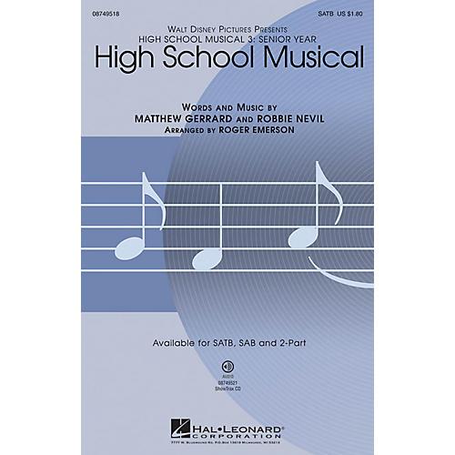 Hal Leonard High School Musical (from High School Musical 3) 2-Part Arranged by Roger Emerson-thumbnail