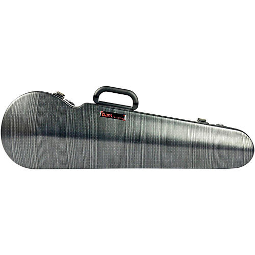 Bam High Tech Contoured Violin Case Black Lazure